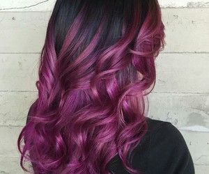 hair, colored, and fashion image