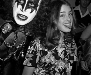 brooke shields, kiss, and gene simmons image
