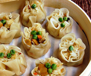 chinese, dim sum, and dumpling image