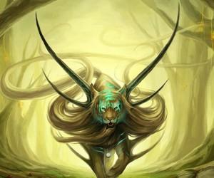 tiger and fantasy image