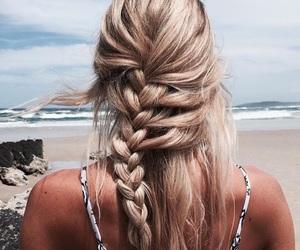 blonde, blondie, and braid image
