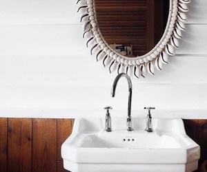 bathroom, interiors, and decorating image