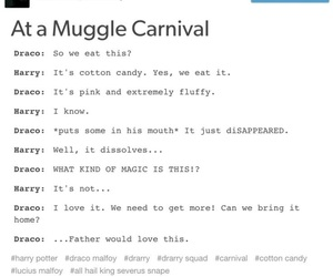 carnival, fluff, and potter image