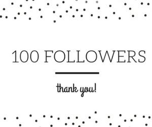 100, followers, and 100 followers image