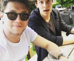 shawn mendes, niall horan, and one direction image