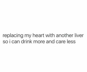quote, drink, and heart image