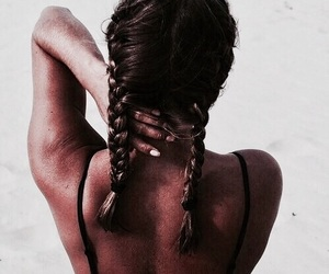 braid, buns, and fishtail image