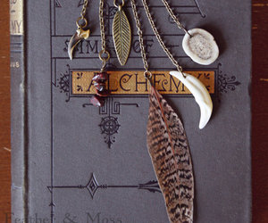 alchemy, claw, and feather image