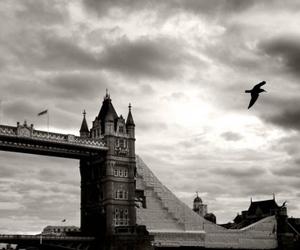 bridge, british, and dark image