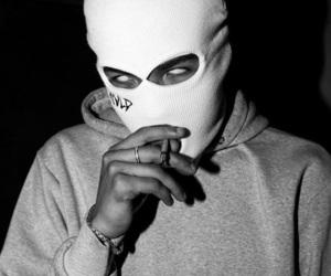 b&w, grunge, and cyberghetto image