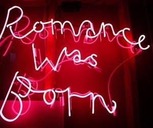 romance, light, and neon image