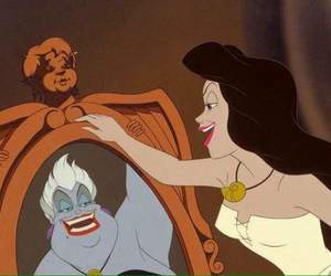 ursula, disney, and mermaid image