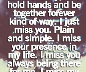 quotes, i miss you, and best friends image