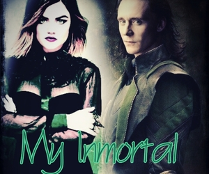 battle, lucy hale, and loki image