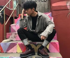 boy, fashion, and kfashion image