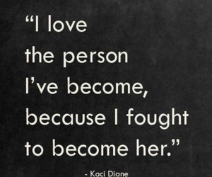 quotes, fight, and love image