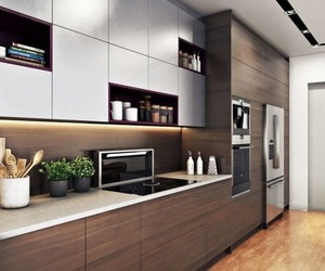 kitchen, decoration, and style image