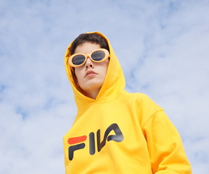 bloggers, exclusive, and Fila image