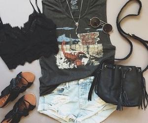 black, garotas, and jeans image