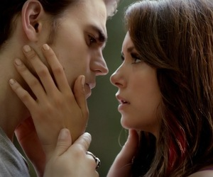 stelena, elena gilbert, and stefan salvatore image