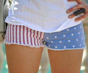 fashion, shorts, and america image