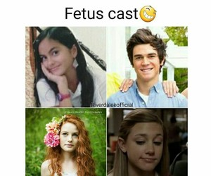 riverdale, bettycooper, and riverdalecast image