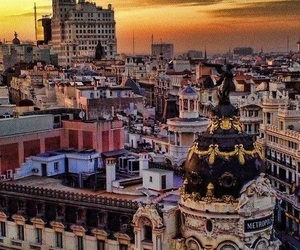 madrid and city image