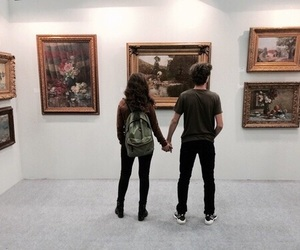 art, alternative, and couple image