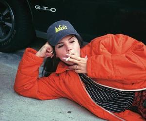 lana del rey, cigarette, and smoke image