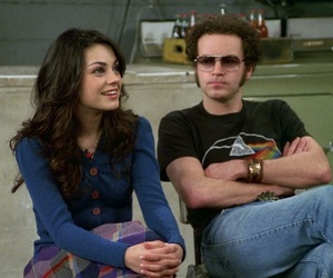 90s, couple, and Mila Kunis image