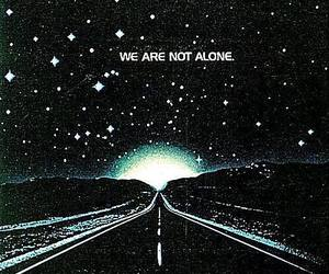 alien, alone, and stars image