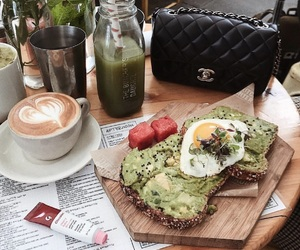 avocado, brunch, and chanel image