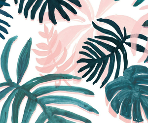 background, pink, and tropical image