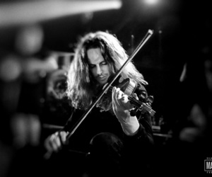 metal, violin, and ne obliviscaris image