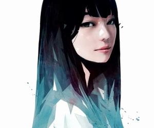 asian, digital art, and drawing image