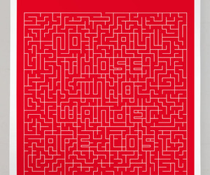maze, words, and quote image