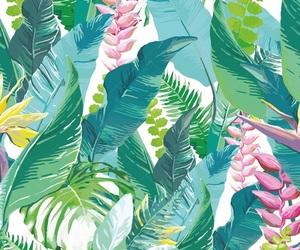 colorful, green, and hawaiian image