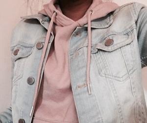 denim, ootd, and denim jacket image