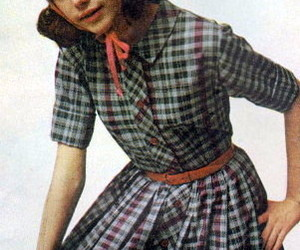 1960s, colleen, and plaid image