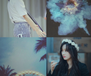 aesthetic, blue, and moodboard image