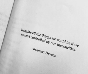 book, insecurities, and books image