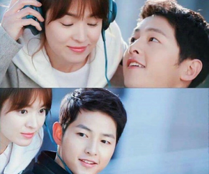 dots, kdrama, and couple image