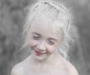 girl, pale, and child image
