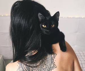 aesthetic, animal, and black image
