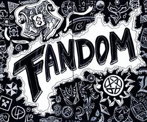 fandom, harry potter, and supernatural image