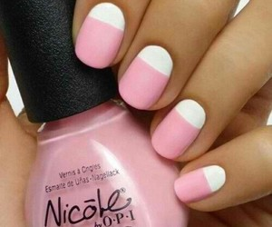 color, nails, and pink image