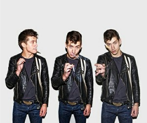 alex turner, arctic monkeys, and smoke image