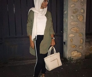 arabic, outfit, and sneakers image