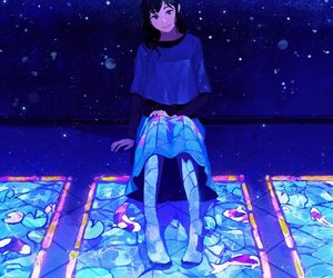 anime, art, and alone image