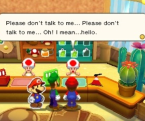 introvert, shy, and super mario image